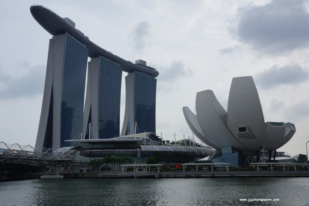 Hotel Marina Bay Sands e Art Science Museum