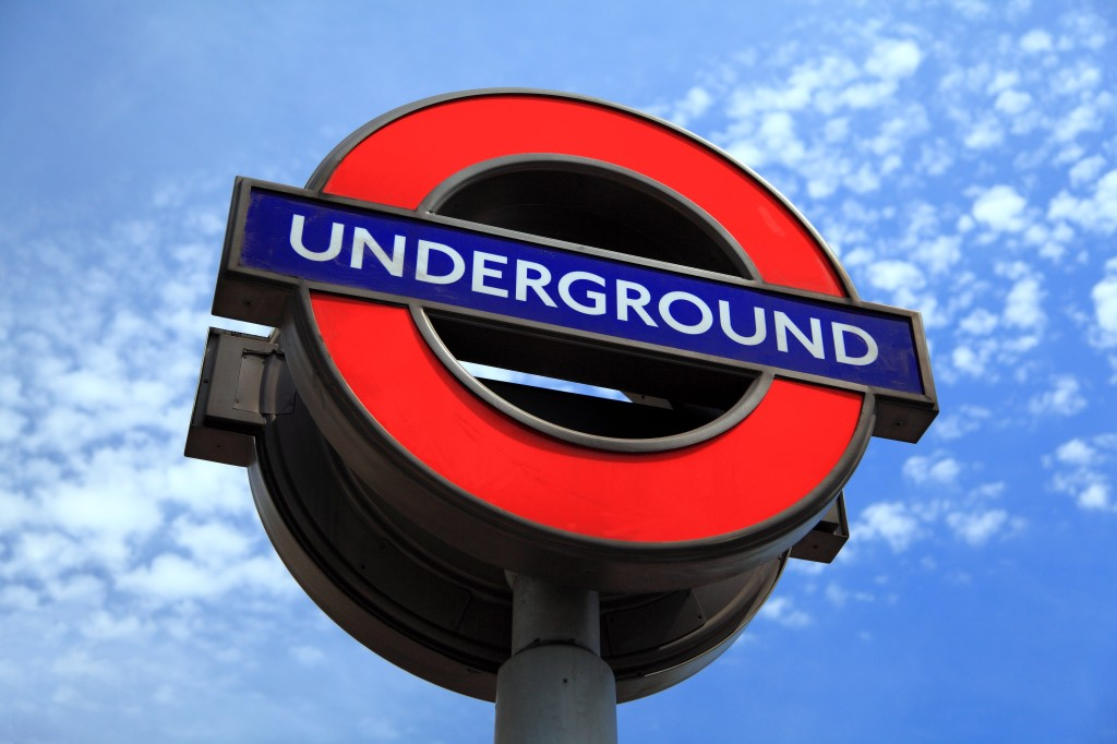 "O Metrô de Londres, ""The Tube""  (Foto: Pixabay)"