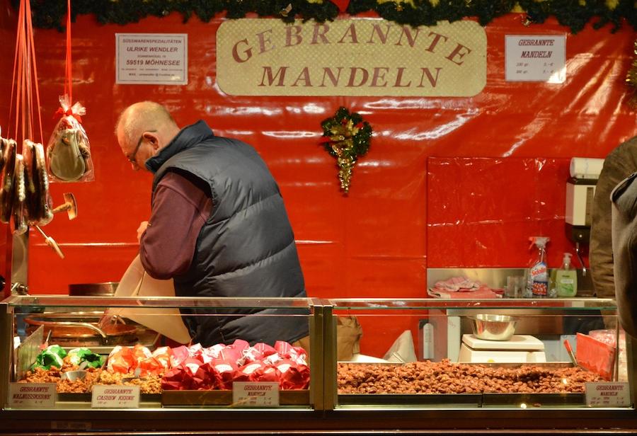 Barraca de amendoas - Mercado de Natal - Berlim - Bárbara Poplade Schmalz©