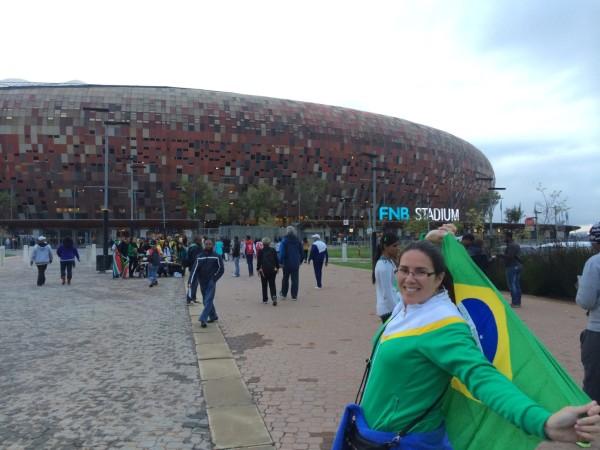 Amistoso Brasil x Bafana Bafana _Março 2014_ Soccer City Stadium _Soweto