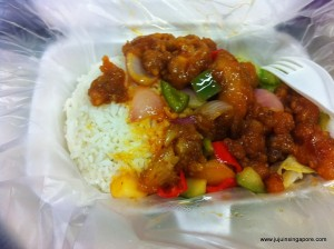 Chicken Sweet and Sour - meu novo prato favorito