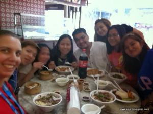 Lau Pa Sat - com a galera do trabalho
