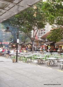 Lau Pa Sat  - Hawker Center