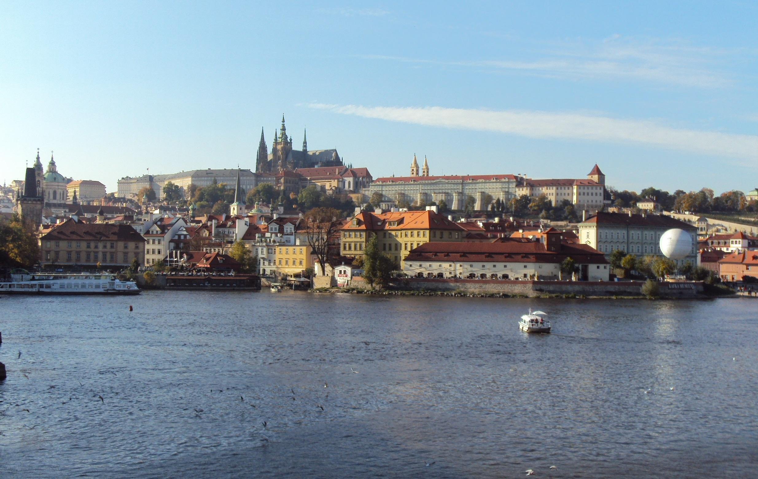 Castelo de Praga (atual residência presidencial)
