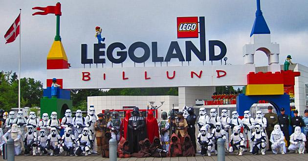 Legoland faz parte do Grupo LEGO