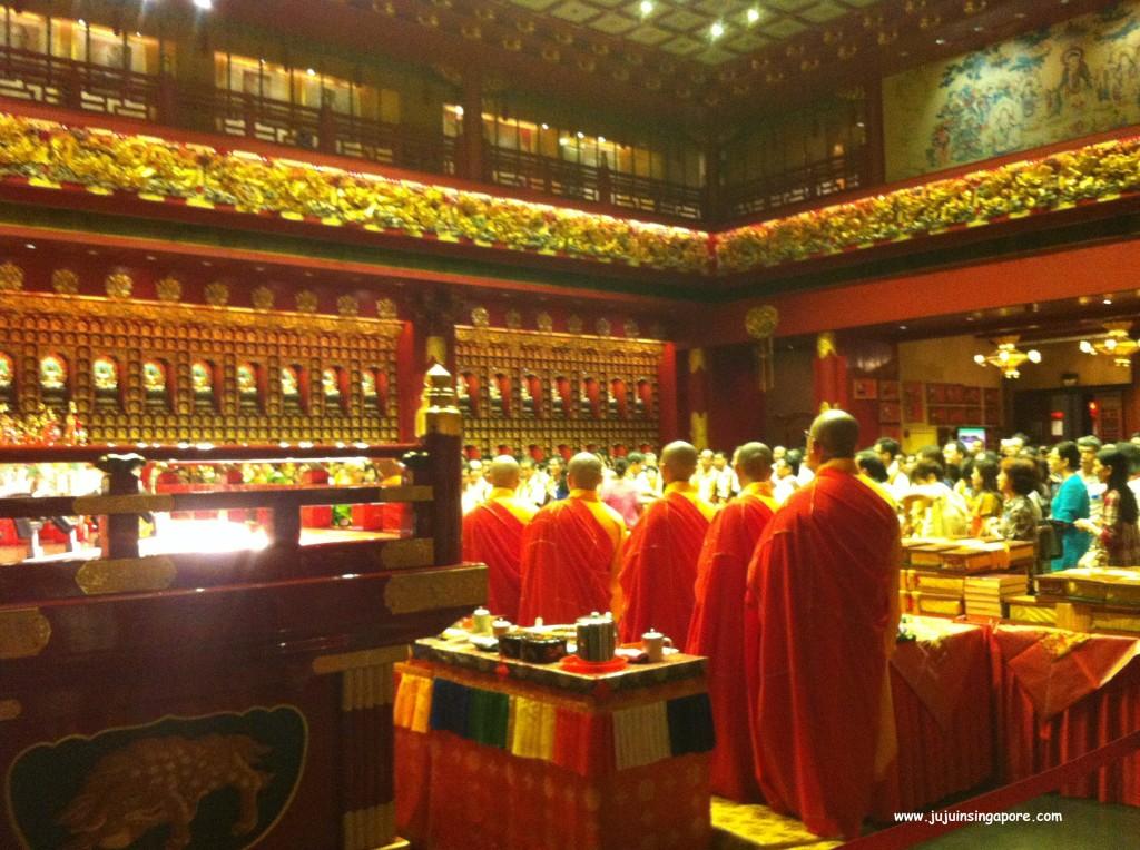 Templo em Chinatown - Cerimônia de Ano Novo Chinês