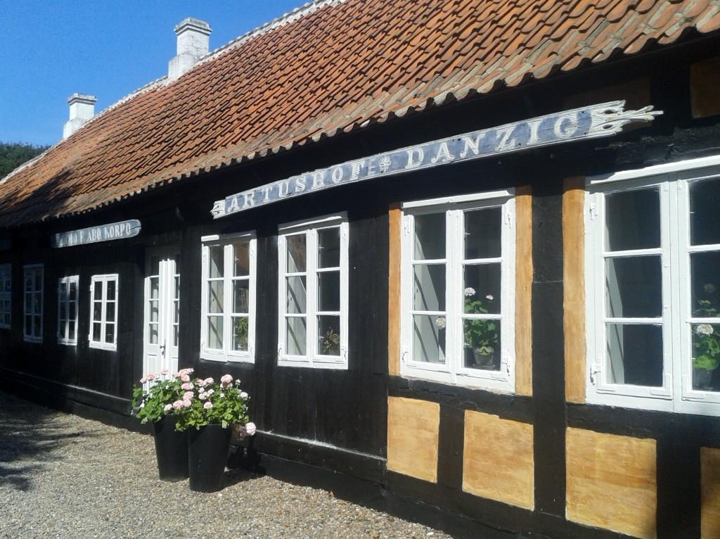 P.S. Krøyers Hus, casa de veraneio do pintor transformada em museu (Foto: Cristiane Leme)