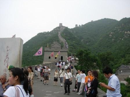 Muralhas da China.