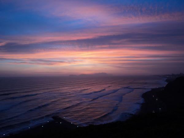 Pôr do Sol em Lima
