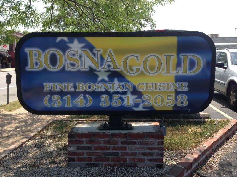 Bosna Gold: o primeiro restaurante Bósnio de St. Louis, aberto em 1997,