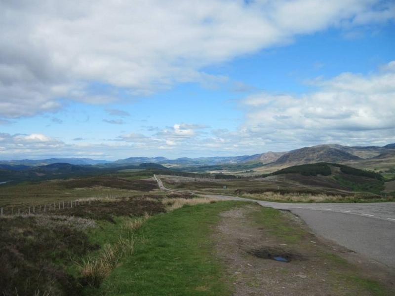 Em algum lugar das Highlands.
