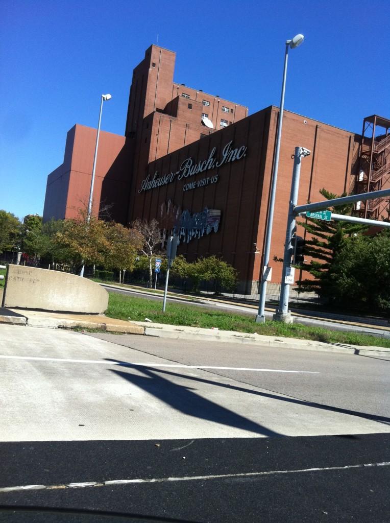 Anheiser-Busch, fábrica da cerveja Budweiser em St. Louis.