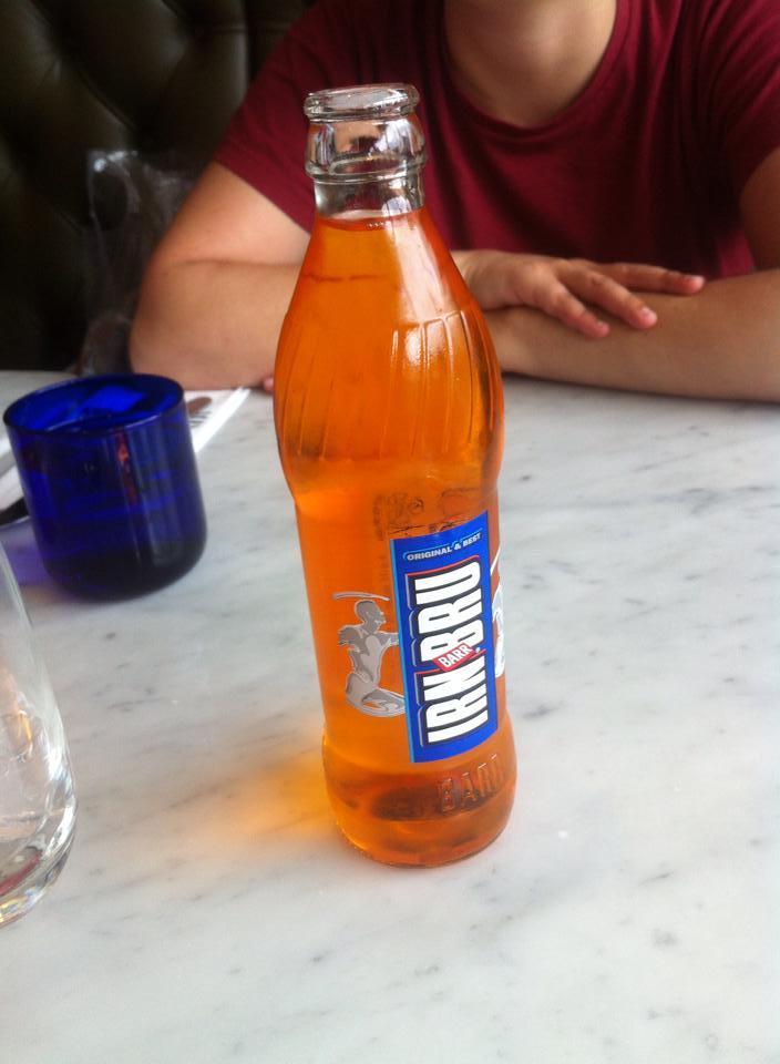 """""""A outra bebida oficial da Escócia"""""""