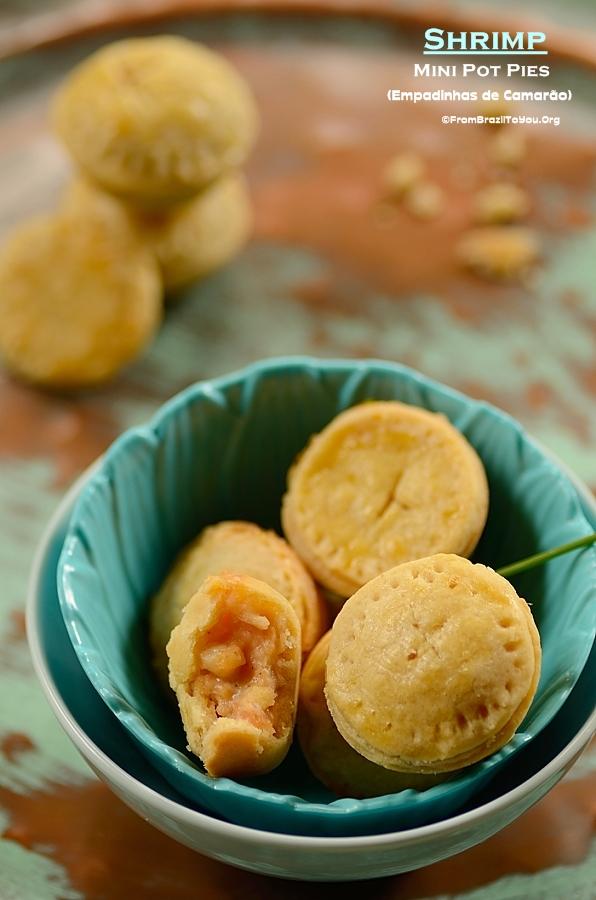 Empadinhas de Camarão (Shrimp Mini Pot Pies)