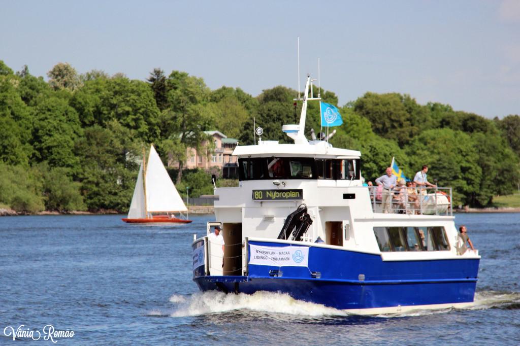 Barco como transporte público