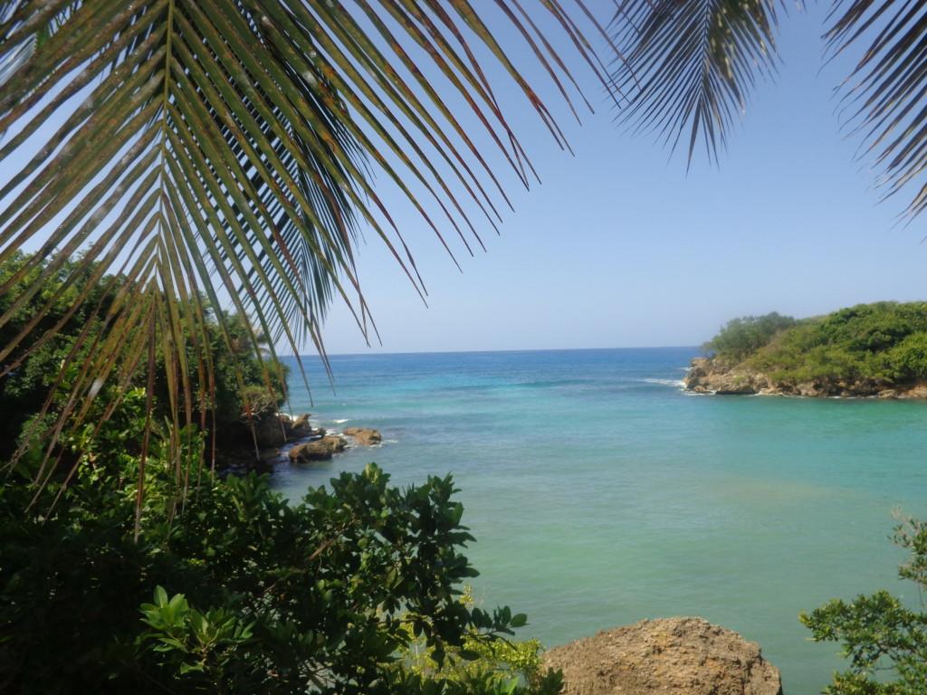 Em minha segunda visita a Jacmel fiquei em um hotel com uma vista maravilhosa.