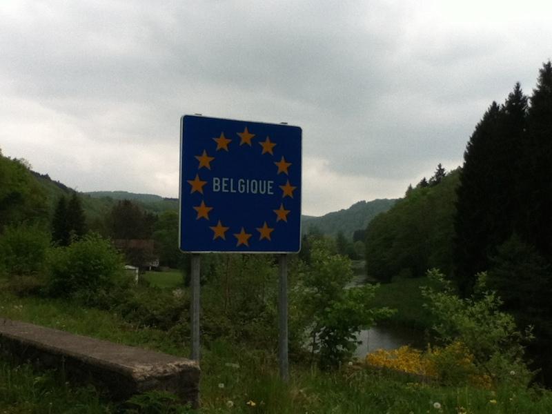 Fronteira com Bélgica