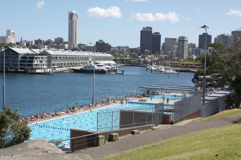 Piscina pública Andrew Boy. Parte central de Sydney
