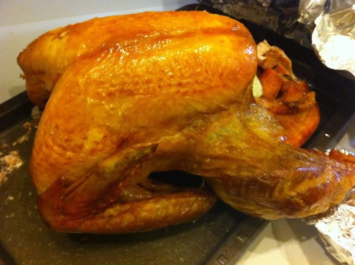 O famoso peru do Thanksgiving! (Crédito da foto: Jordana Mattos)