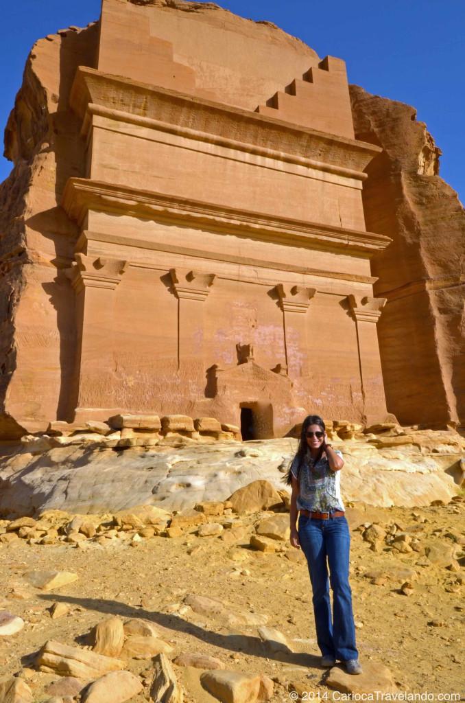 Patrimônio histórico da humanidade pela UNESCO, Madain Saleh na Arábia Saudita