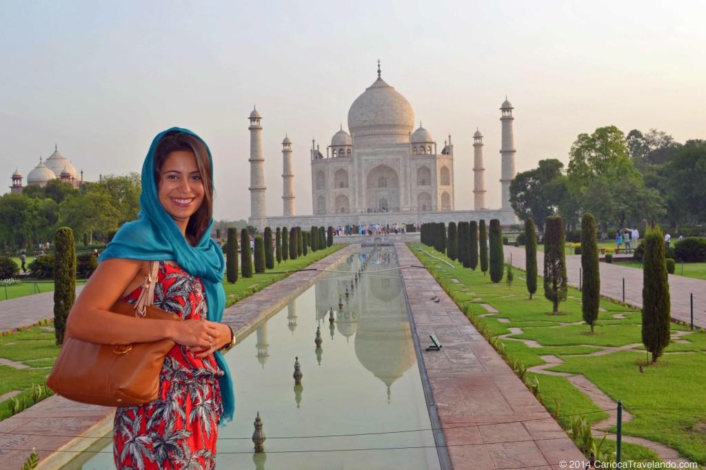 Uma das sete maravilhas do mundo, Taj Mahal na Índia