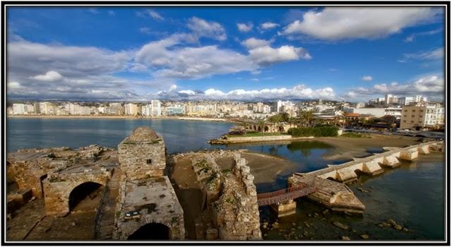Castelo do Mar em Sídon