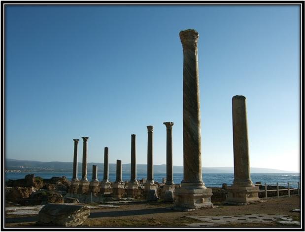 Colunatas Romanas em Tiro