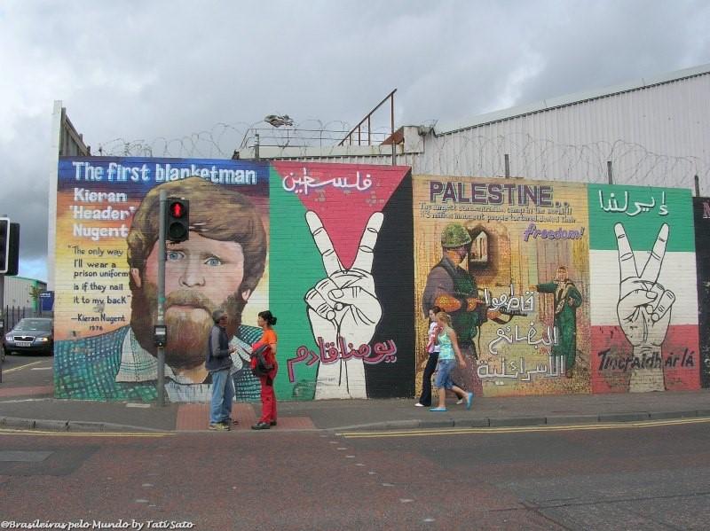 Muros de Belfast... Outro país, outra história!