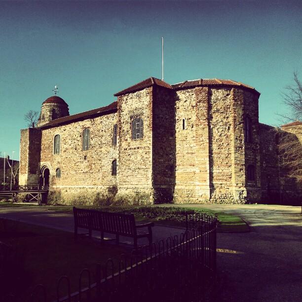 Colchester Castle, principal atração turística da cidade