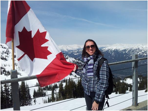 Viagem a Whistler, cidade ao norte de Vancouver, que já foi sede das Olímpiadas de Inverno em 2010.