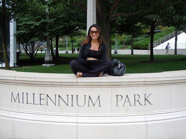 Millenium Park, a versão chicagoana do Central Park em Nova York.