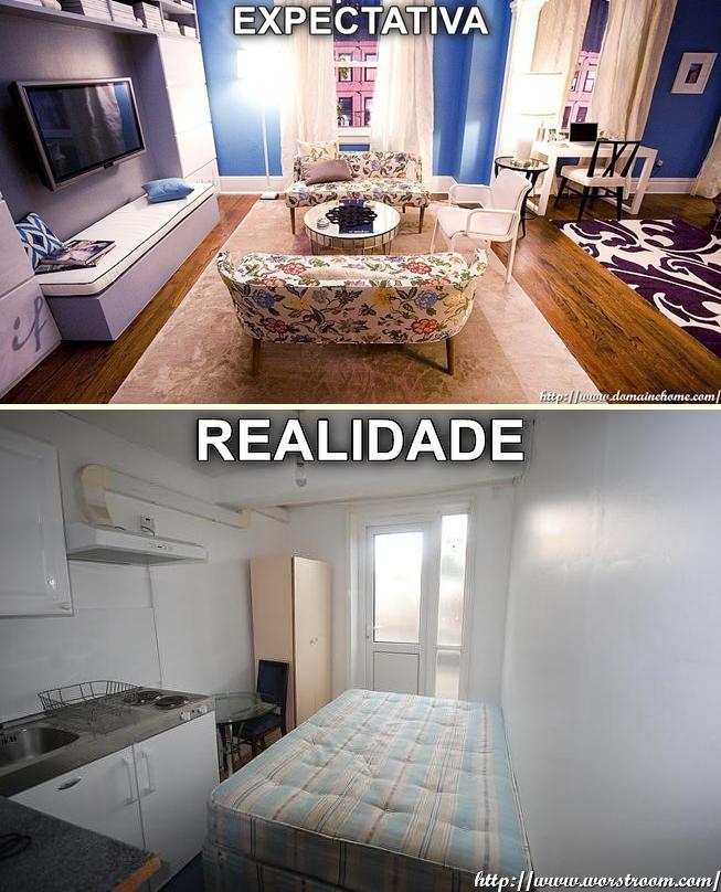 EXPECTATIVA vs REALIDADE