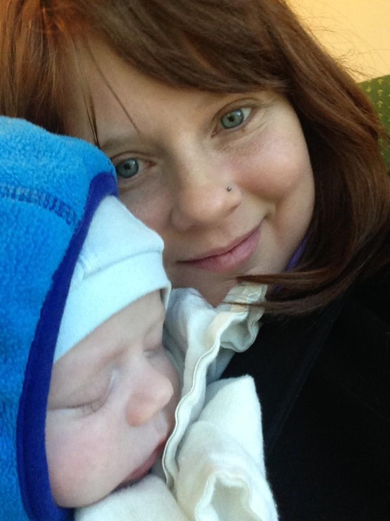 Eu e meu bebê.