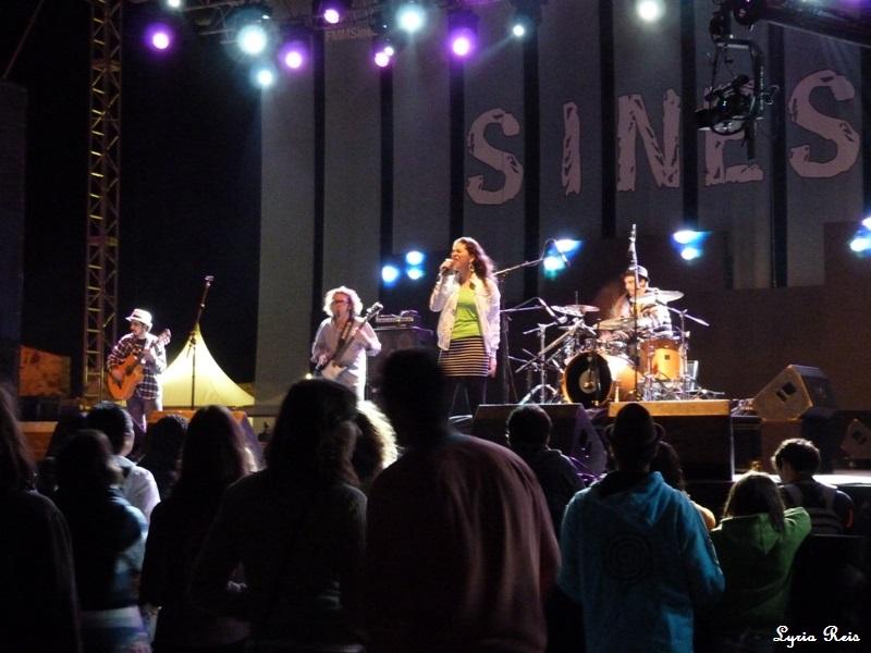 Show de Luísa Maita no FMM Sines 2011.