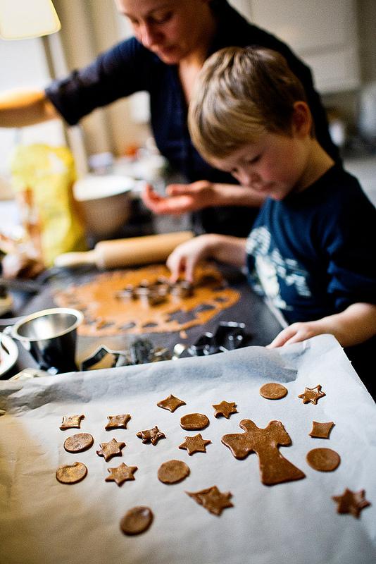 Uma das atividades preferidas dos dinamarqueses é fazer bolos, biscoitos e confeitos no inverno, sobretudo na época do Natal. Foto: Flickr/Denmark.dk (divulgação)