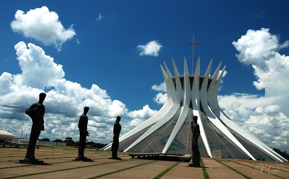 Catedral de Brasília. Foto: Wikimedia Commons