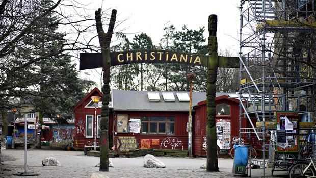 Entrada de Christiania (foto: DR.dk/Divulgação