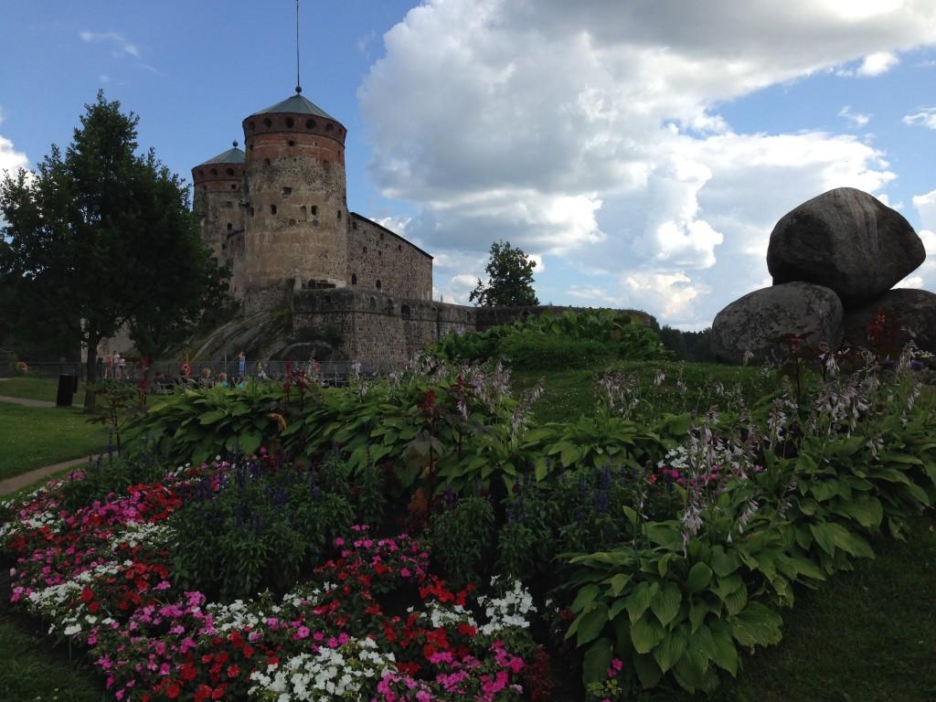 Foto: arquivo pessoal, castelo de Savolinna