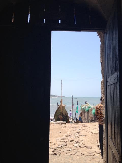 Porta do não-retorno do Castelo de Cape Coast.