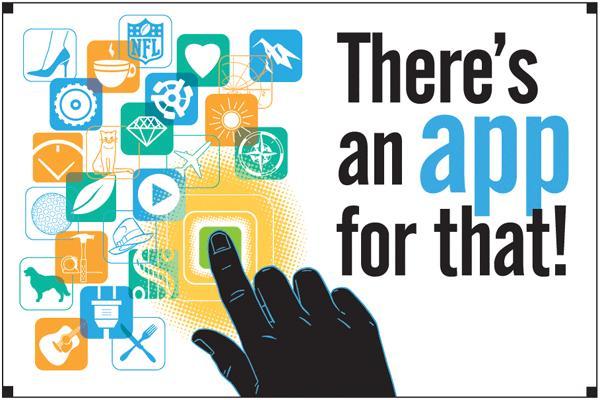 Existem aplicativos para quase tudo!