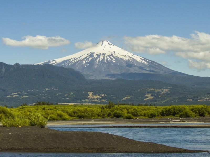 Vulcão Villarica Fonte: Pixabay