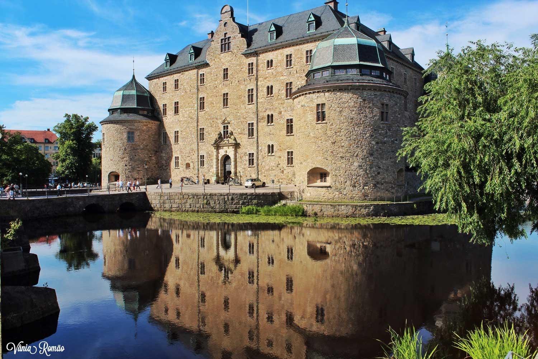 Castelo de Örebro na Suécia