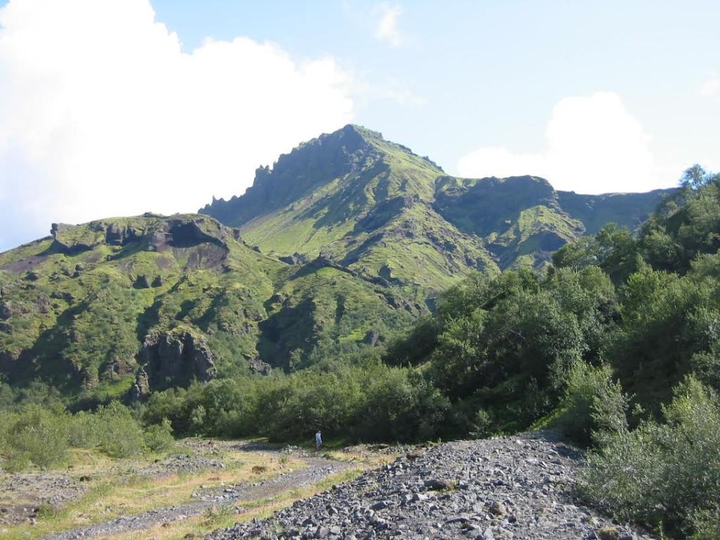 Montanhas do parque Thórsmörk