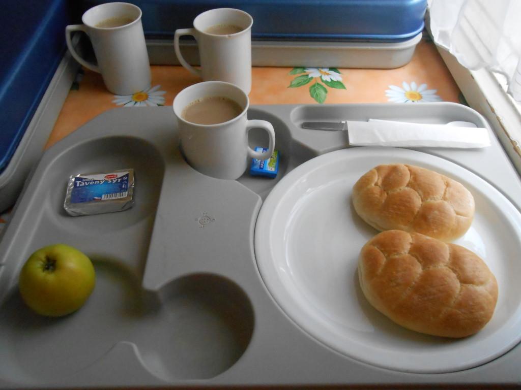 O café-da-manhã
