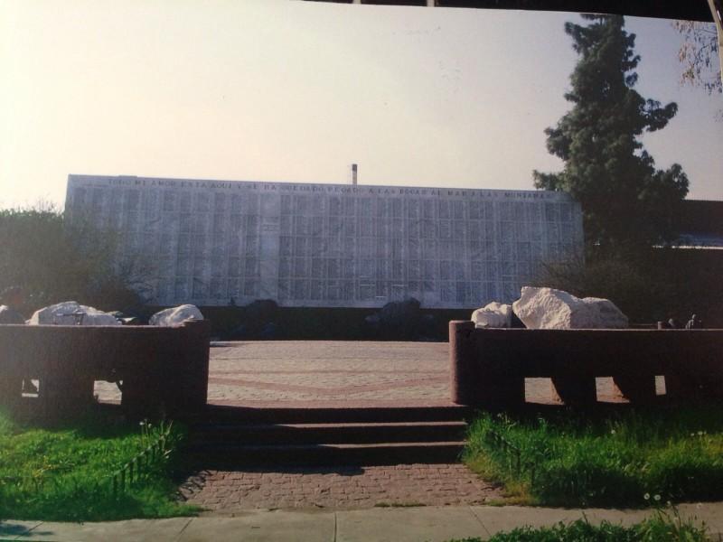 Homenagem aos desaparecidos e assassinados durante a ditadura, no Cementério General.