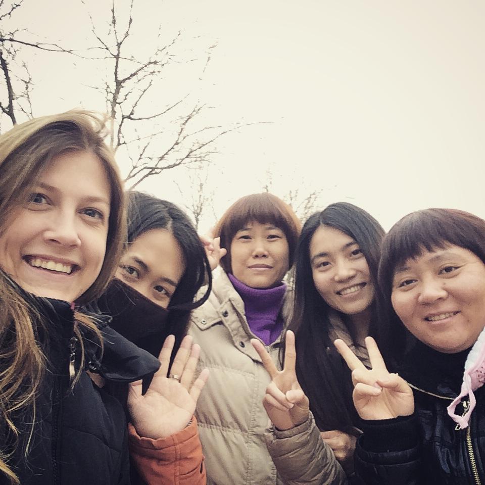 002-1 - Colegas em Beijing, China - CAPA