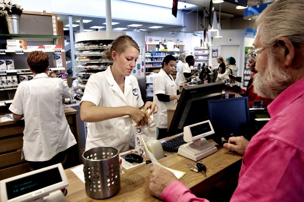 Farmácia em Lyngby, Zelândia. Foto: Politiken.dk (divulgação)