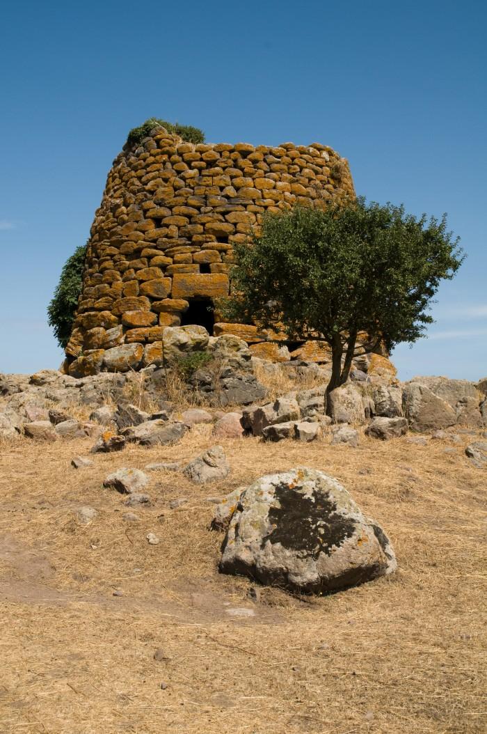 Sardinia, Italy: nuraghe building near Macomer - Sardegna, Macomer: Nuraghe Succuronis