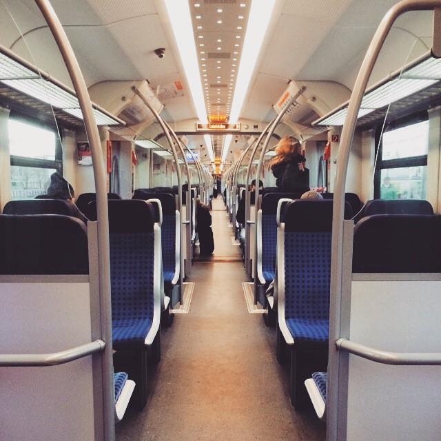 S-Bahn por dentro