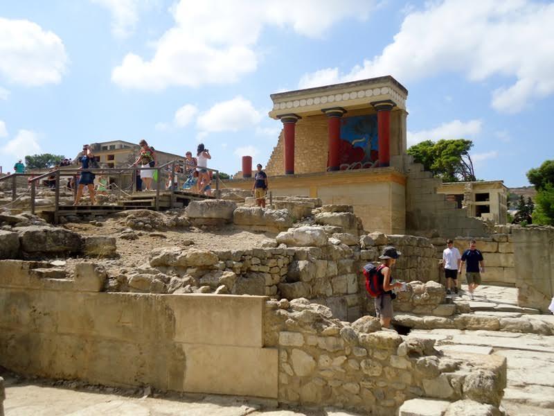 Ruínas de Knossos